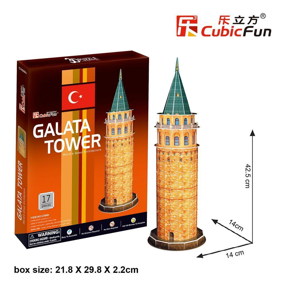Galata Tower 3D-Puzzle