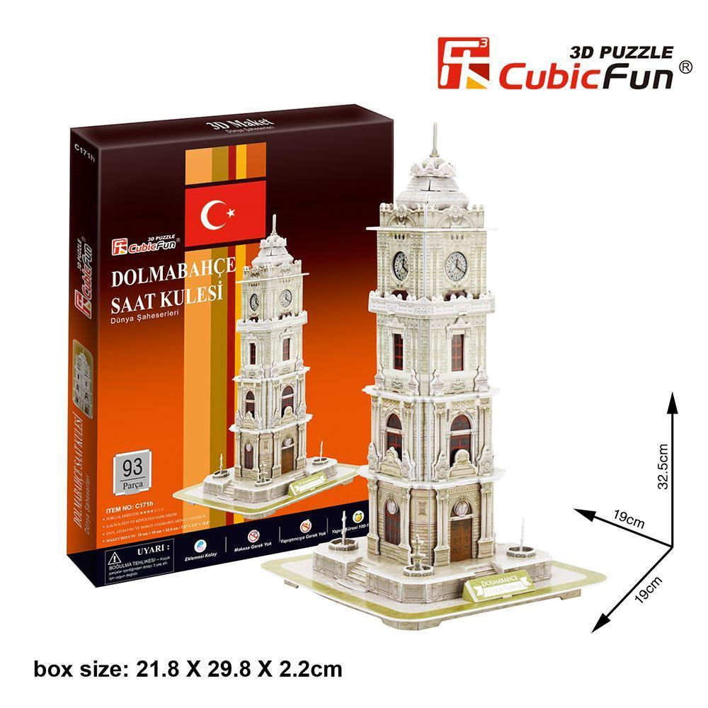 Dolmabahce Saat Kulesi 3D-Puzzle