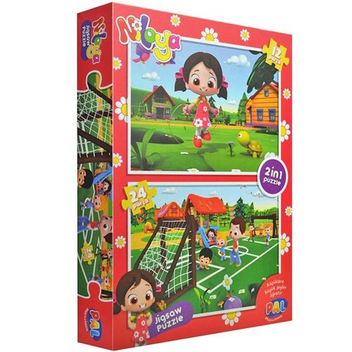 Niloya Puzzle 2 in 1